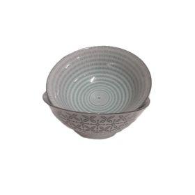 Ciotola grande in porcellana lavorata a mano