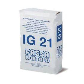 IG21 BIANCO Kg 25 INT.BASE CALCE/CEM