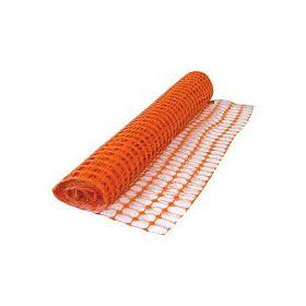RETE ARANCIO PVC PER CANTIERE H 1.20X50